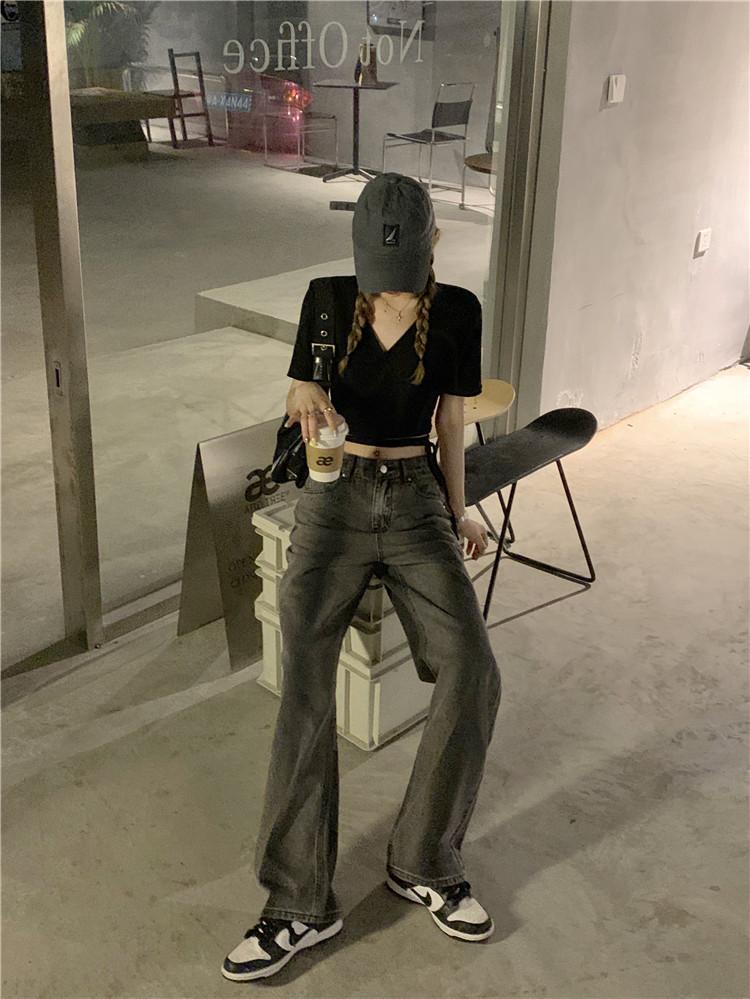 韓国 ファッション トップス Tシャツ カットソー 春 夏 カジュアル PTXK312  カシュクール 肌見せ Tシャツ カットソー オルチャン シンプル 定番 セレカジの写真20枚目