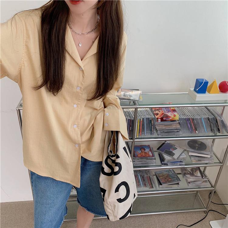 韓国 ファッション セットアップ 春 夏 カジュアル PTXK500  カットオフデニム ハーフパンツ オーバーサイズ オルチャン シンプル 定番 セレカジの写真9枚目
