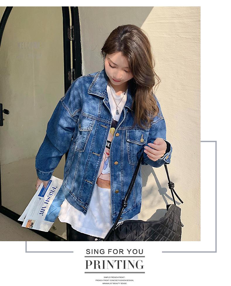 韓国 ファッション アウター ブルゾン 春 秋 冬 カジュアル PTXL525  オーバーサイズ キレイ目 プレーン 着回し オルチャン シンプル 定番 セレカジの写真14枚目