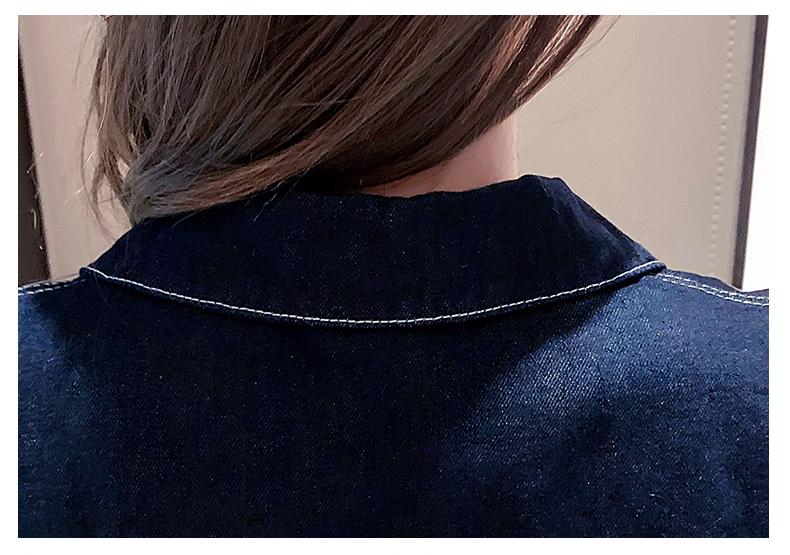 韓国 ファッション アウター ジャケット 春 秋 冬 カジュアル PTXL534  ステッチ オーバーサイズ キレイ目 ジャケット オルチャン シンプル 定番 セレカジの写真12枚目